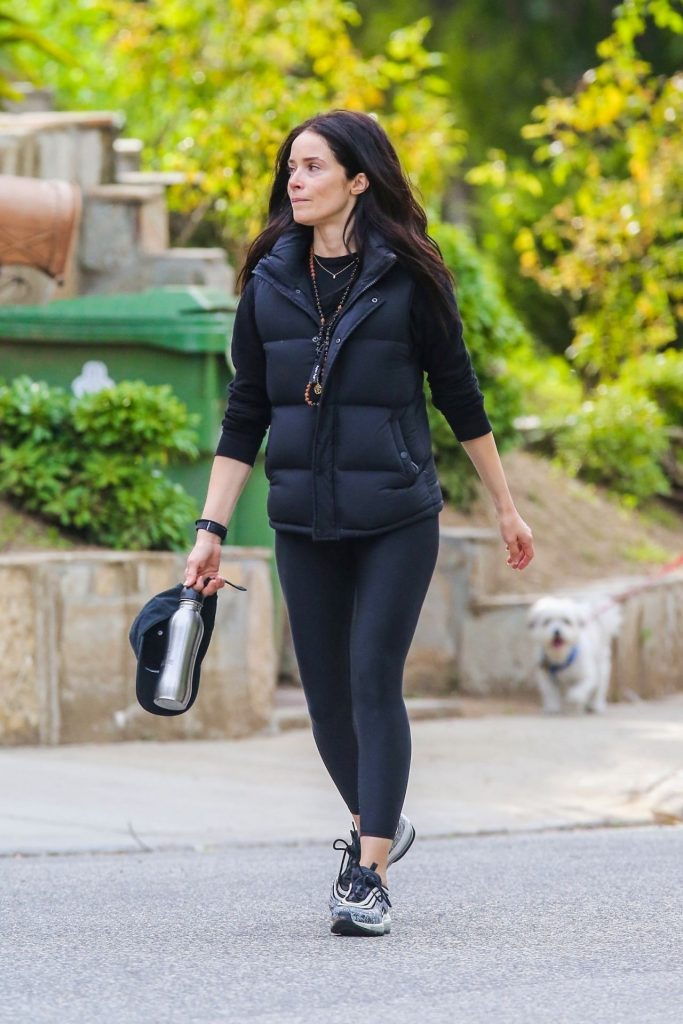 Abigail Spencer – Goes For a Walk in Studio City 2020 (7 Photos)