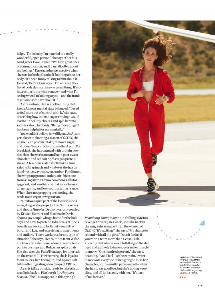 Alison Brie – Women's Health US May 2020 (9 Photos)