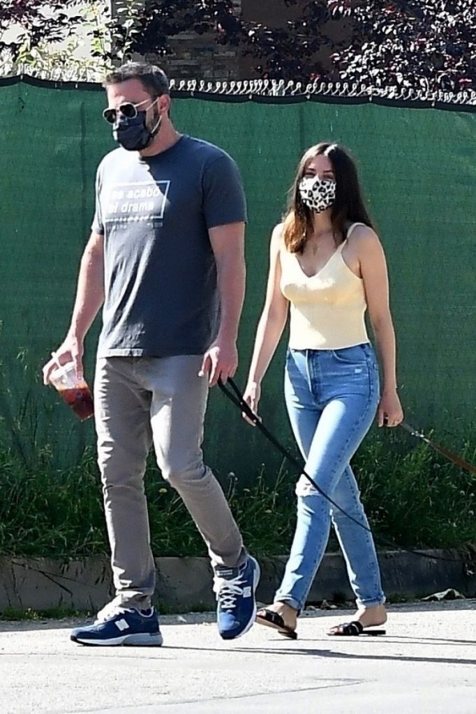 Ana De Armas – Out in Brentwood 2020 (7 Photos)