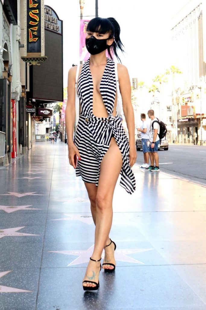 Bai Ling – Hollywood Walk of Fame 2020 (13 Photos)