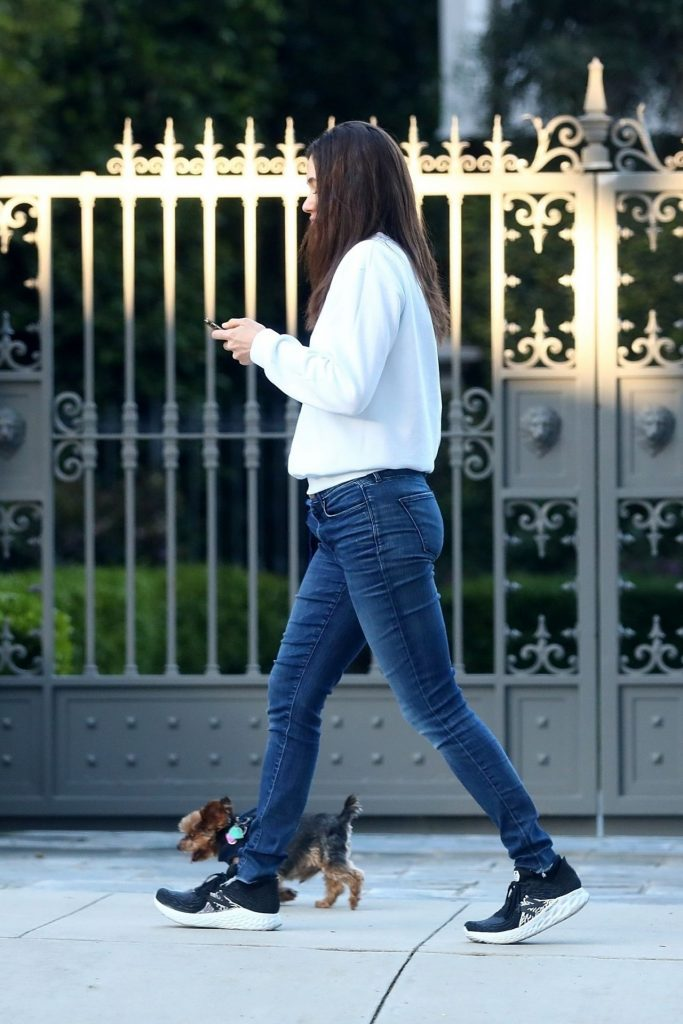 Emmy Rossum and Sam Esmail – Out in Beverly Hills 2020 (12 Photos)