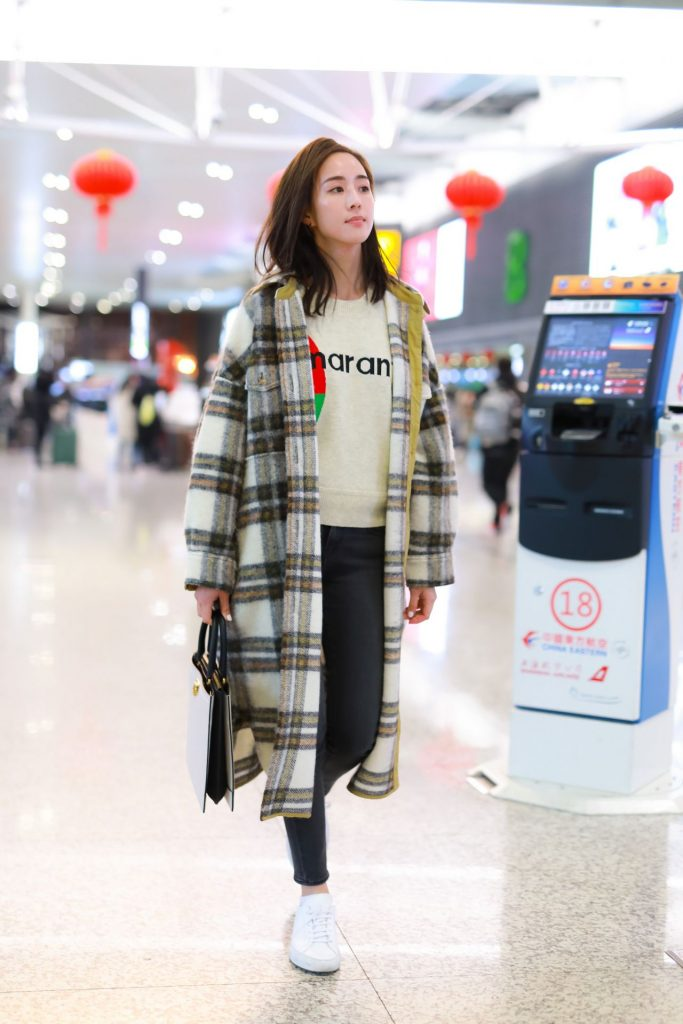 Janine Chang – Airport in Shanghai 2020 (7 Photos)