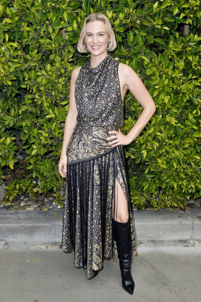 January Jones – Children's Hospital Make March Matter Fundraiser in Los Angeles (6 Photos)