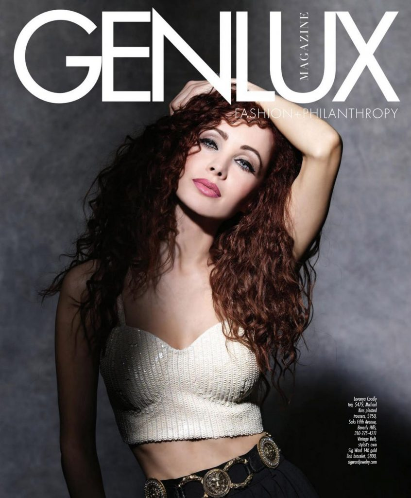 Ksenia Solo – Genlux Magazine Spring-Summer 2020 Issue (6 Photos)