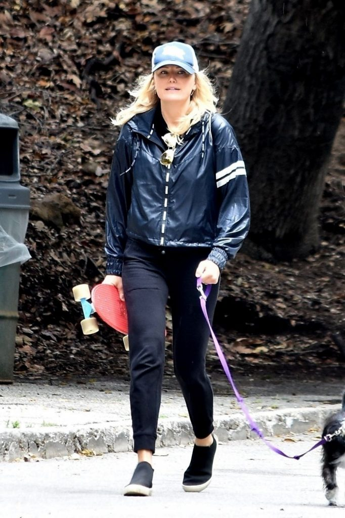 Malin Akerman – Walks Her Dog in Los Feliz 2020 (10 Photos)