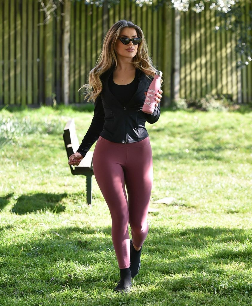 Maria Wild – Daily Excercise at a Park in London's Chelsea 2020 (18 Photos)