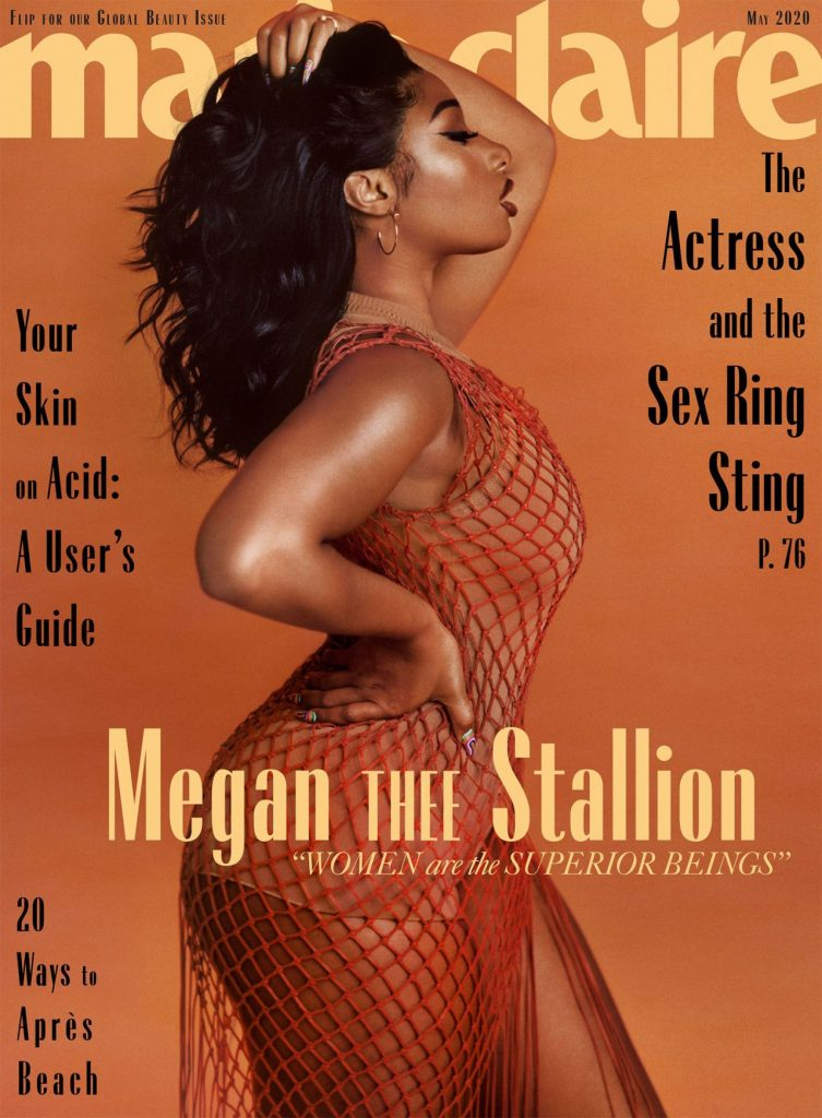 Megan Thee Stallion – US Marie Claire May 2020 (8 Photos)