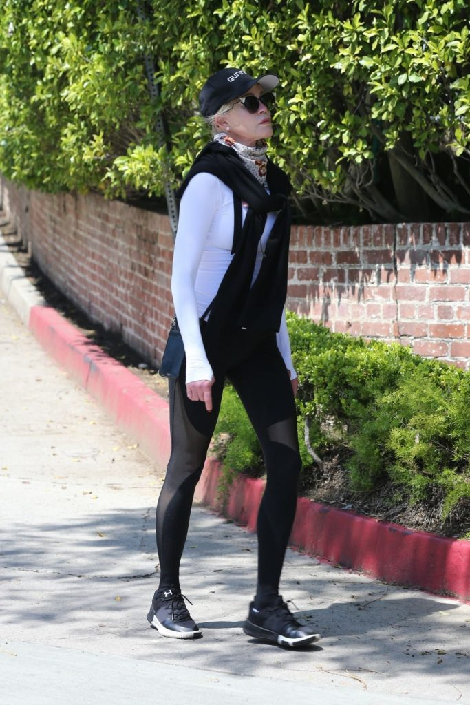 Melanie Griffith in Spandex – Out in Los Angeles 2020 (10 Photos)