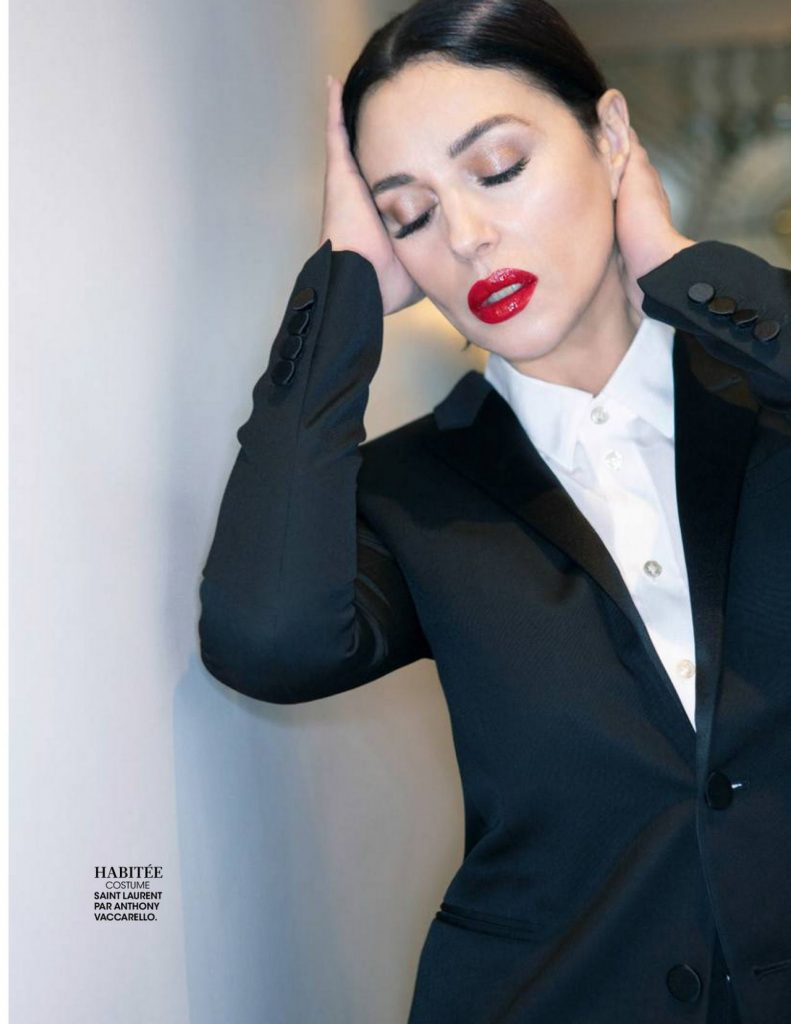 Monica Bellucci – Madame Figaro France 2020 Issue (4 Photos)