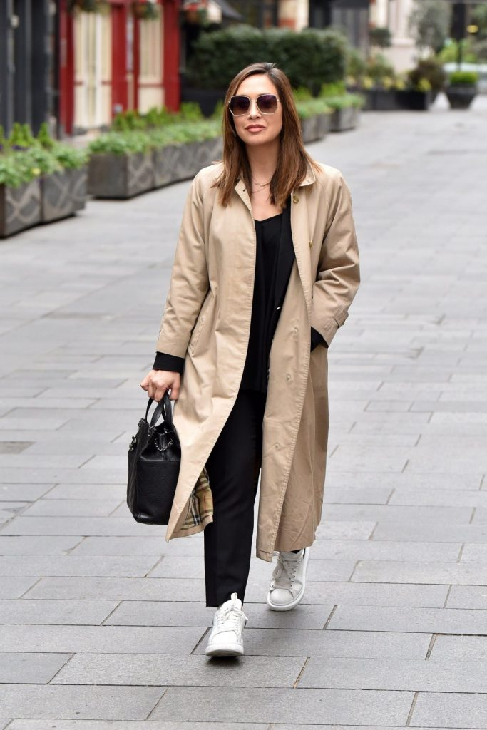 Myleene Klass in Casual Outfit – London 2020 (10 Photos)