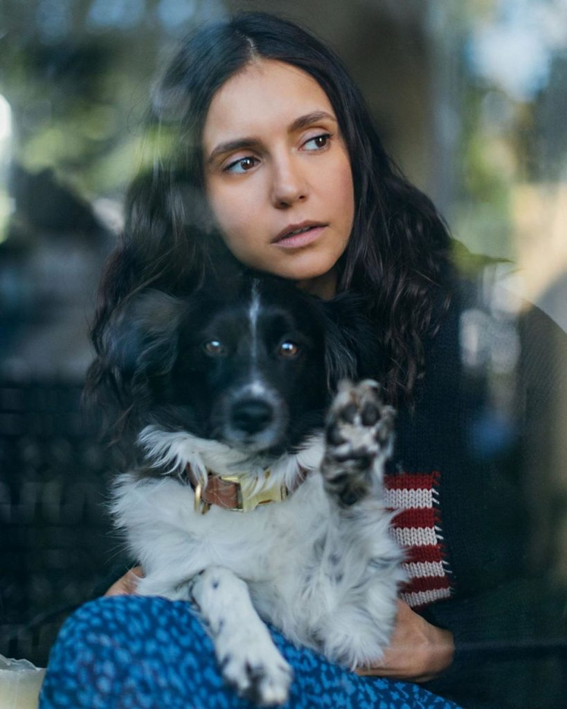 Nina Dobrev – Quarantine Portrait Series April 2020 (3 Photos)