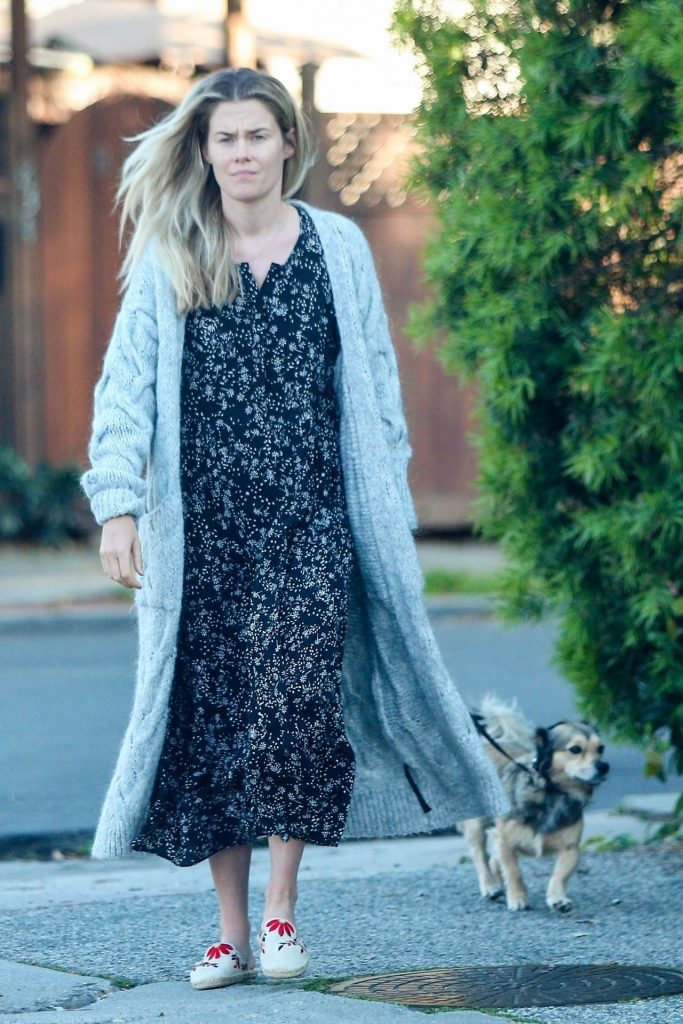 Rachael Taylor – Walking Her Dog in Los Angeles 2020 (7 Photos)