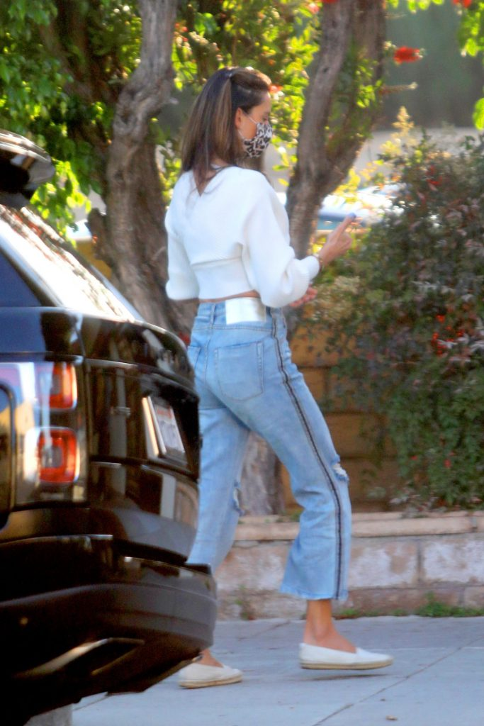 Alessandra Ambrosio – Out in Beverly Hills 2020 (7 Photos)