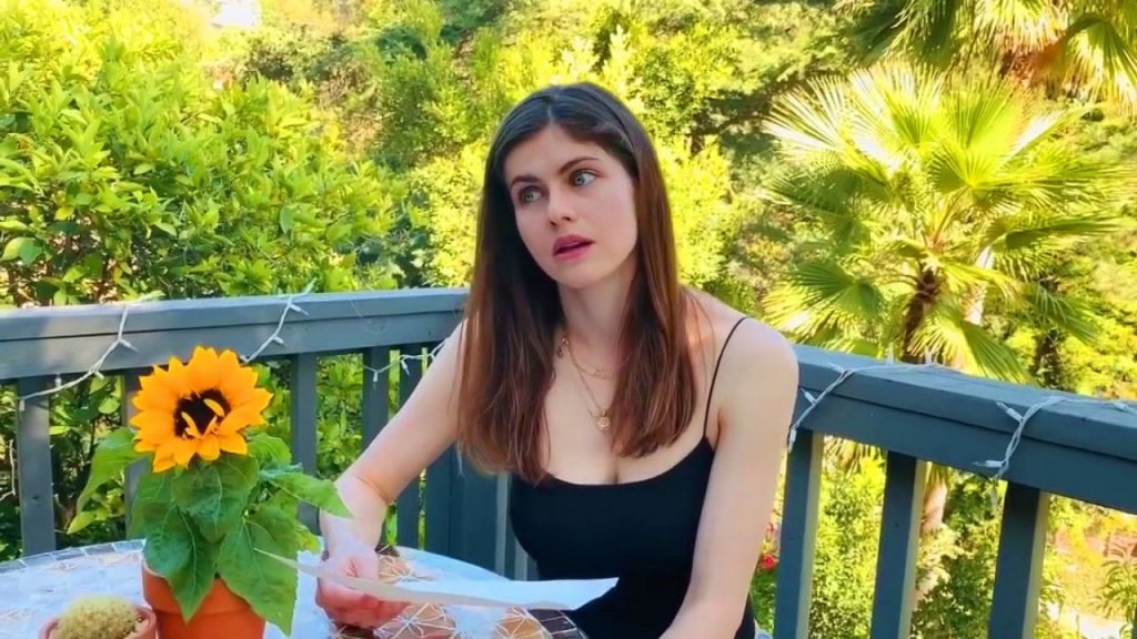Alexandra Daddario – Answers Her Fans Questions- May 2020 (20+ Photos)