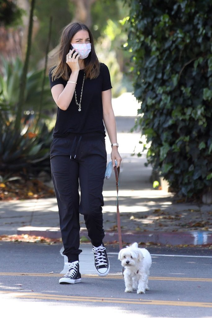 Ana De Armas in Casual Outfit – Walking Her Dog in Venice 2020 (16 Photos)