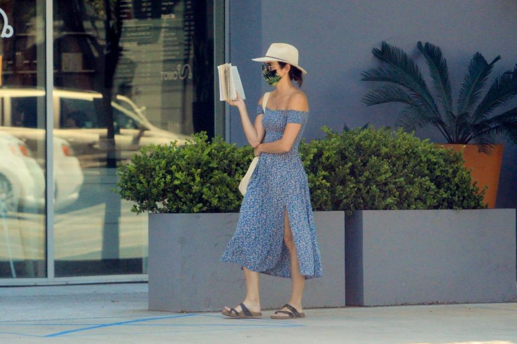 Ashley Greene at the Grocery Store in Beverly Hills 2020 (9 Photos)