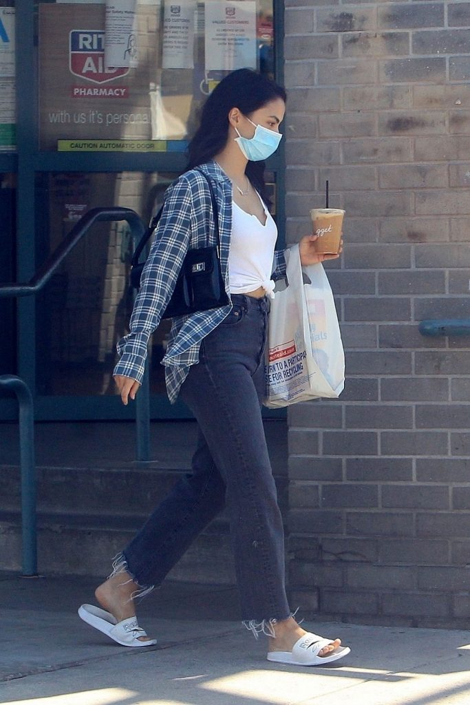 Camila Mendes in Casual Outfit – Beverly Hills 2020 (9 Photos)