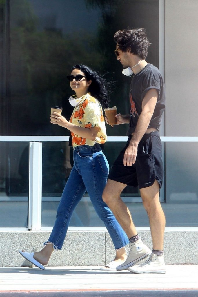 Camila Mendes – Out in LA 2020 (4 Photos)