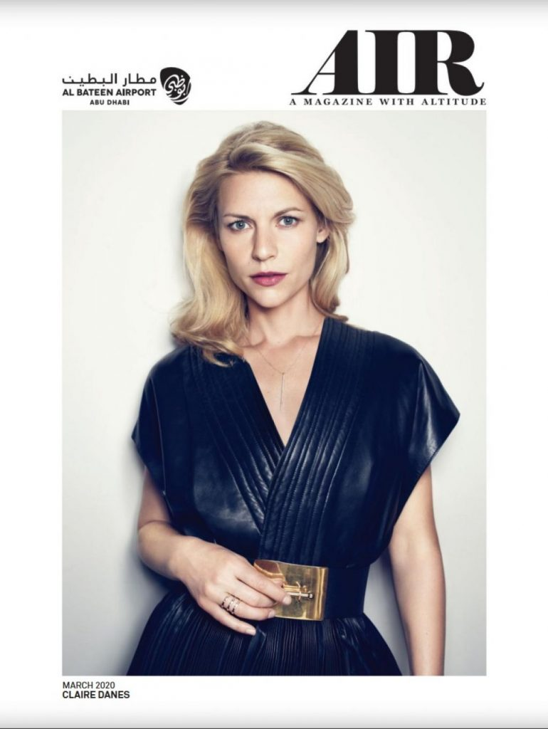 Claire Danes – Air Magazine March 2020 Issue Photos