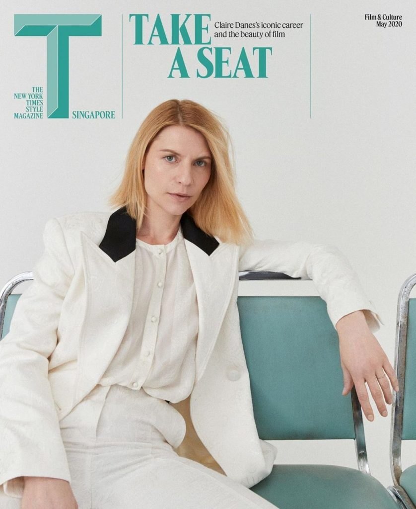 Claire Danes – T Magazine Singapore May 2020 (7 Photos)