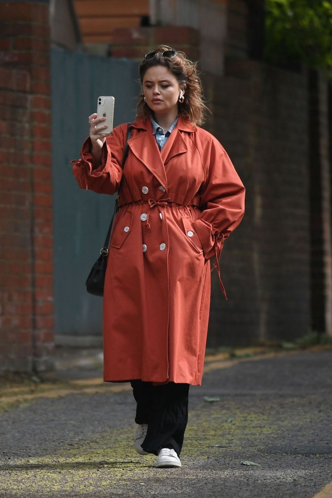 Emily Atack – Out in London 2020 (9 Photos)