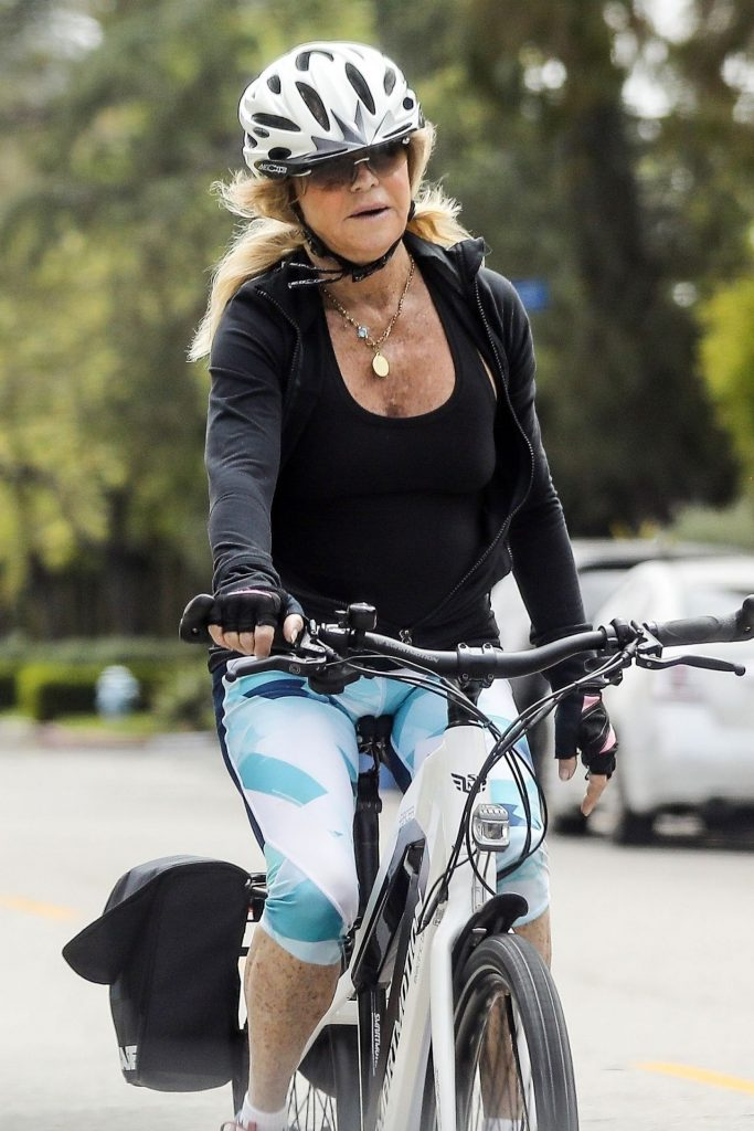 Goldie Hawn Bike Ride 2020 (7 Photos)