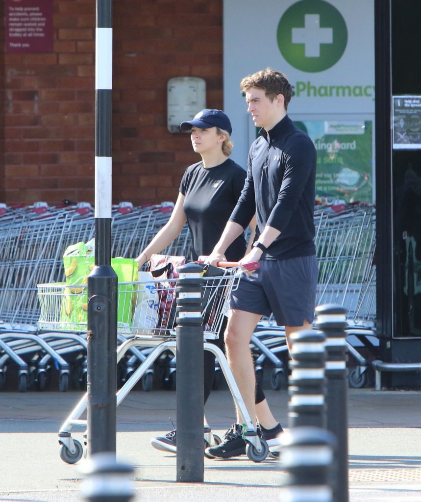 Jodie Comer – Shopping at a local Sainsbury's Store in Liverpool 2020 (7 Photos)