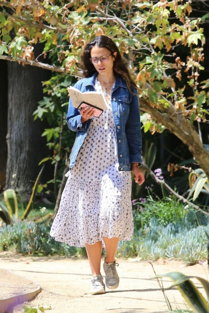 Jordana Brewster – Out in Brentwood 2020 (10+ Photos)