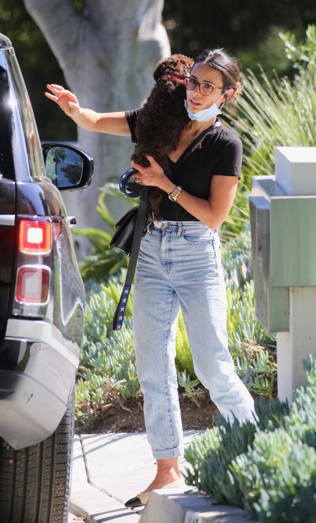 Jordana Brewster – Out in LA 2020 (7 Photos)