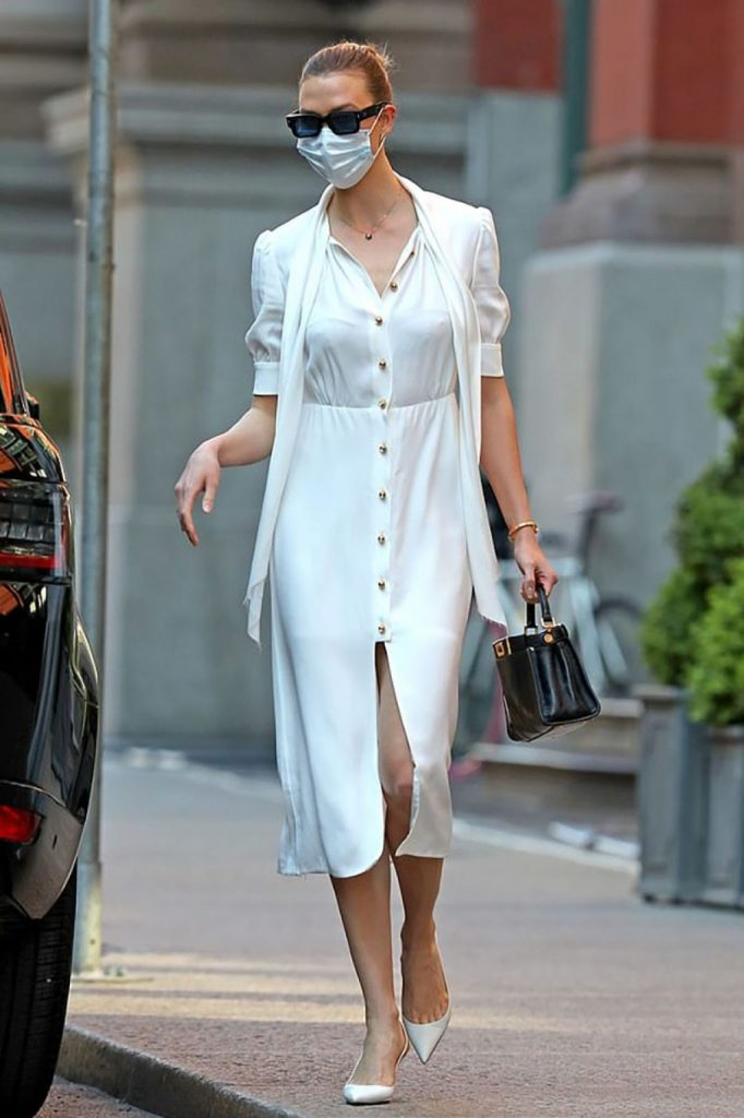 Karlie Kloss in Casual Outfit – NYC 2020