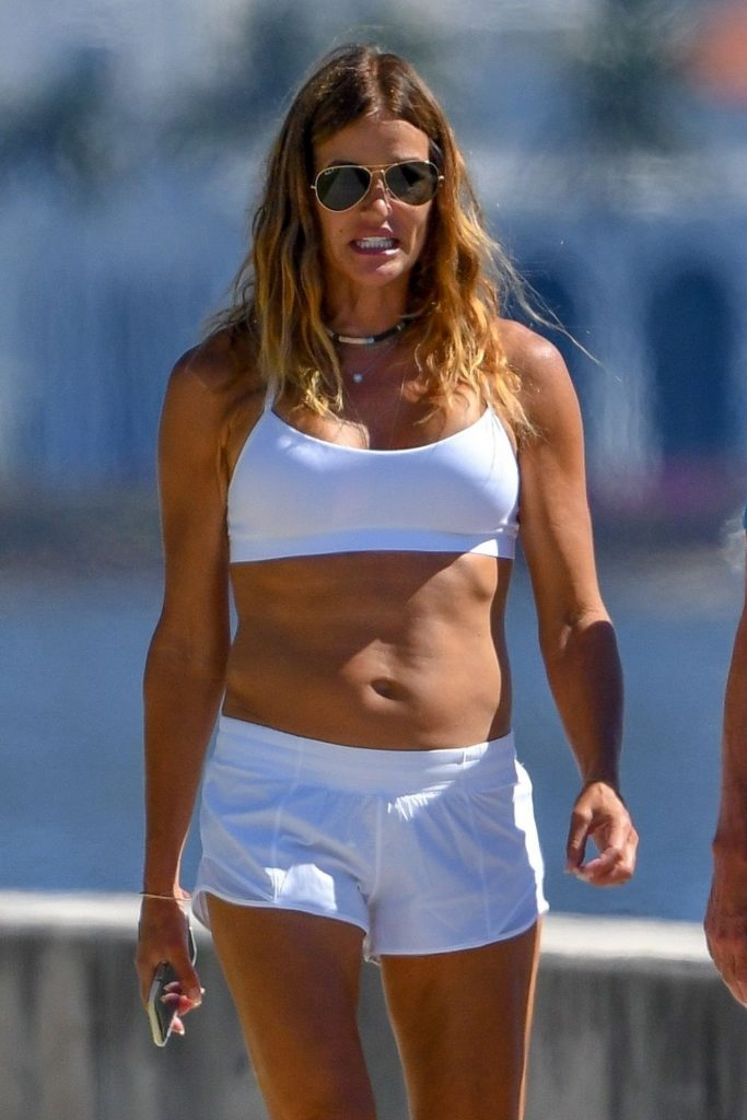 Kelly Bensimon With Her Daughter in Palm Beach 2020 (9 Photos)