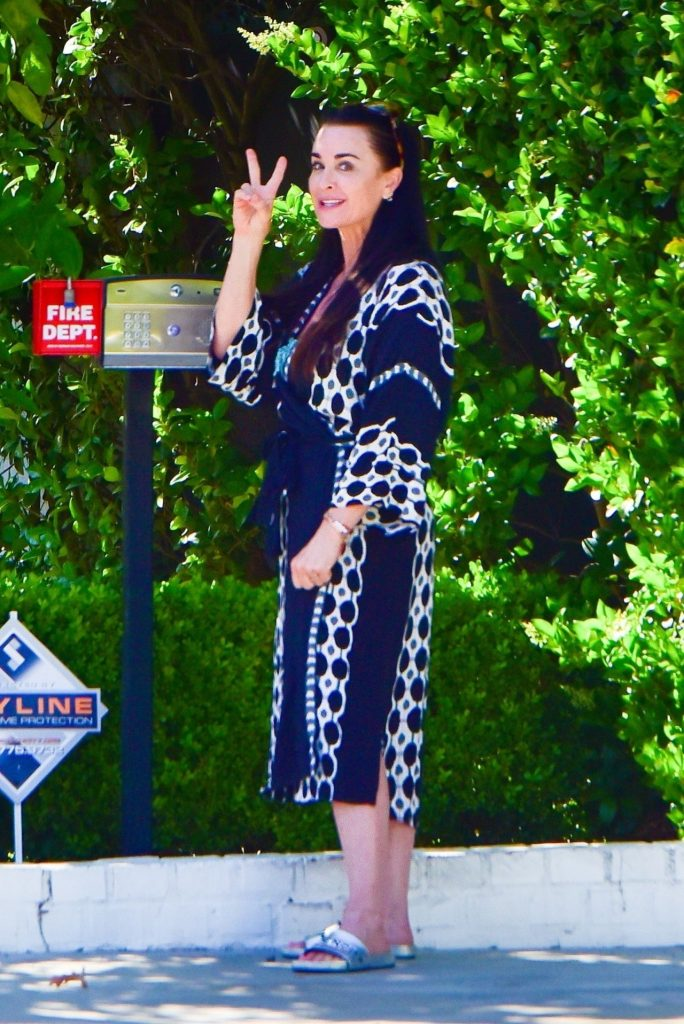 Kyle Richards – Out in Beverly Hills 2020 (9 Photos)