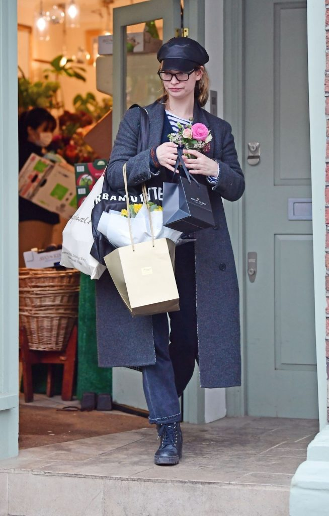Lily James Cute Style – Shopping in London 2020 (7 Photos)