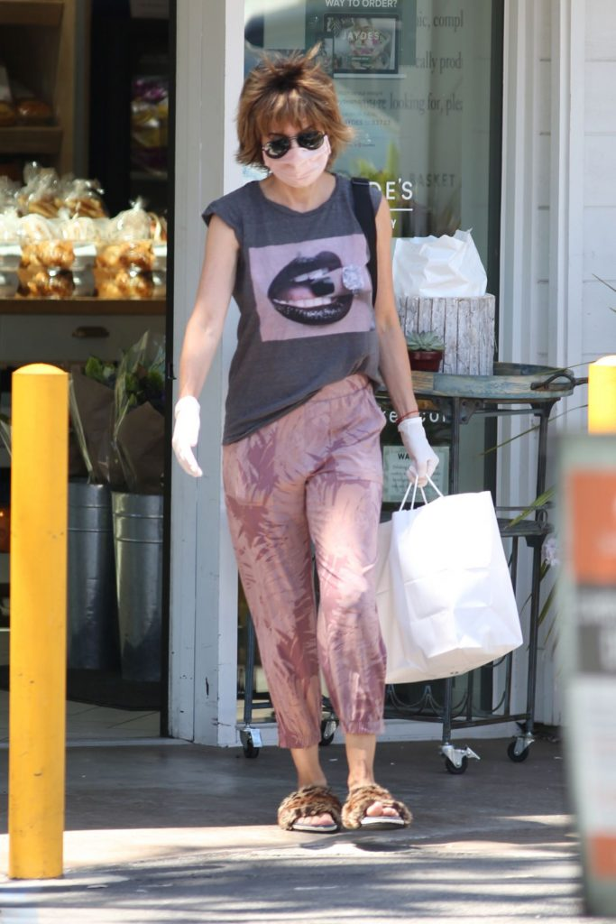 Lisa Rinna at Her Local Market in Bel-Air 2020 (7 Photos)