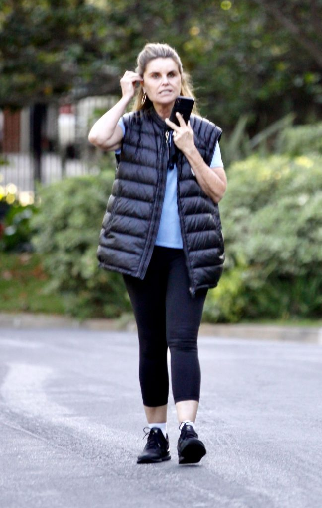 Maria Shriver – Out in Brentwood 2020 (6 Photos)