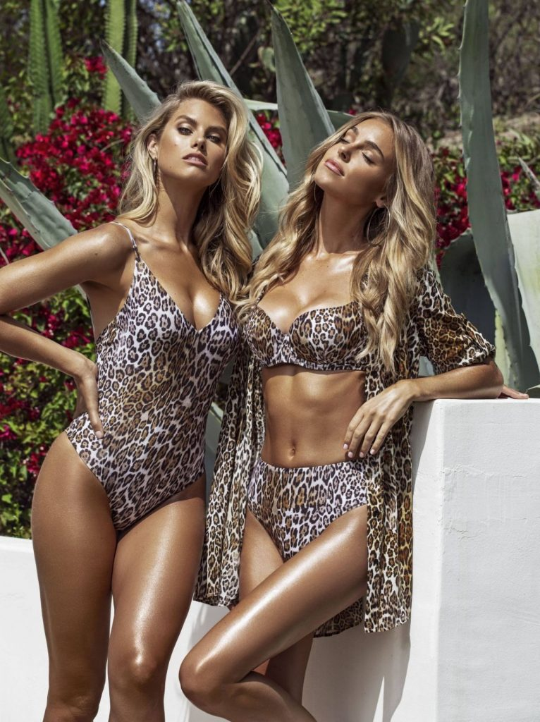 Natalie Roser and Elizabeth Turner – Guess Summer Swimwear Collection 2020 (6 Photos)