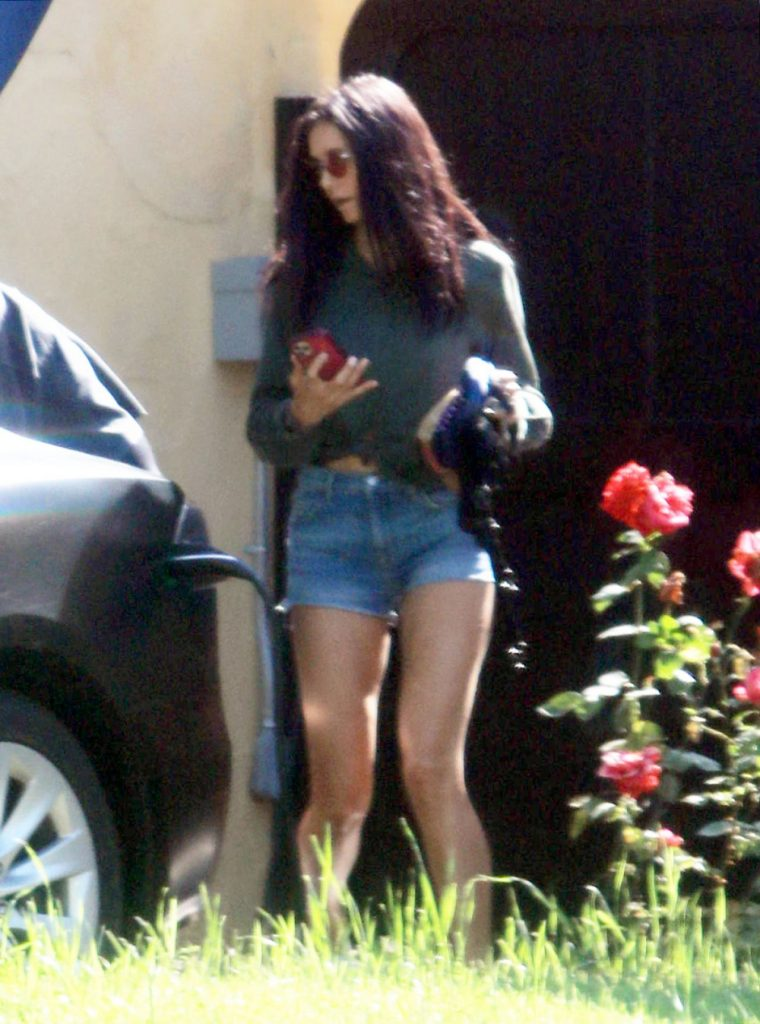 Nina Dobrev in Shorts – Outside Her House in LA 2020 (10+ Photos)
