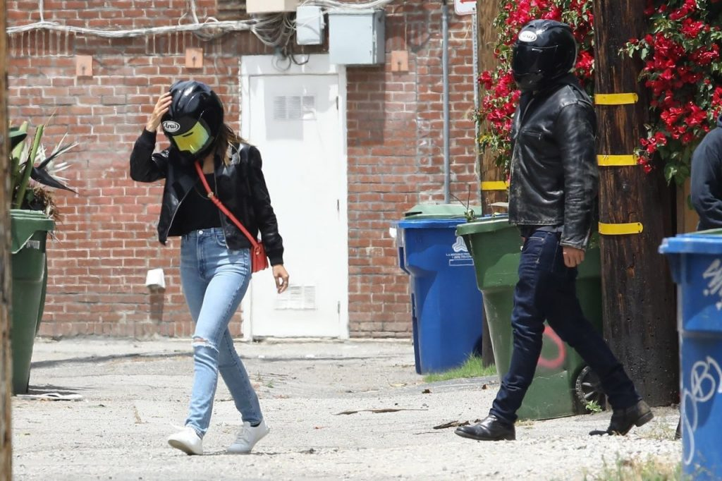 Ana De Armas and Ben Affleck – Cruising on His Motorcycle 2020 (15 Photos)