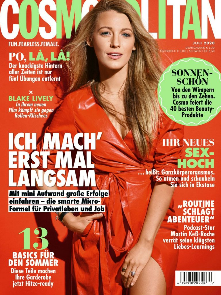 Blake Lively – Cosmopolitan Germany July 2020 Issue (3 Photos)
