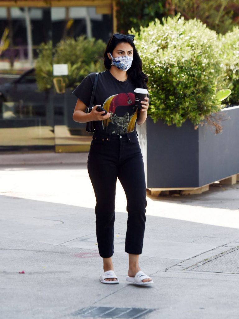 Camila Mendes – Out in LA 2020 (6 Photos)