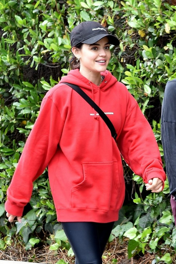 Lucy Hale Outfit – Hike in Studio City 2020 (13 Photos)