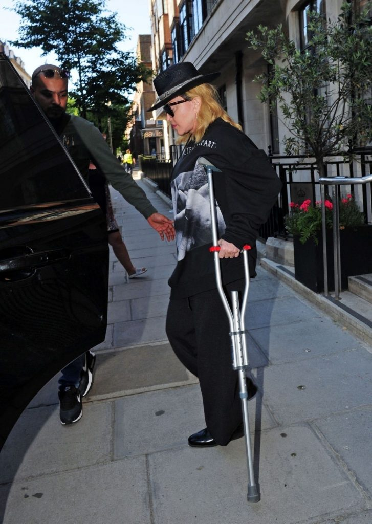 Madonna – Out in London 2020 (10+ Photos)