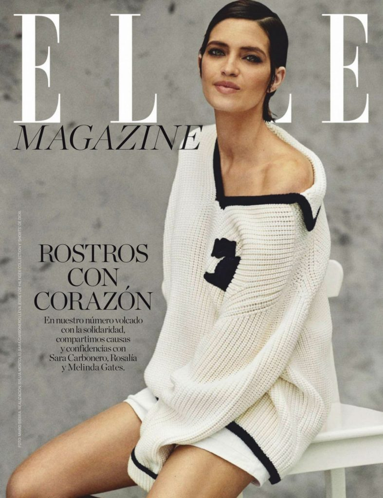 Sara Carbonero – ELLE Magazine Spain July 2020 Issue