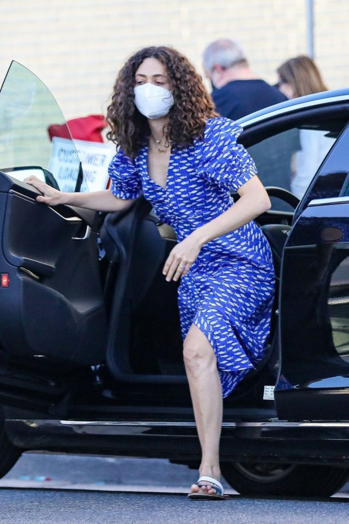 Emmy Rossum – Out in Beverly Hills 2020 (7 Photos)