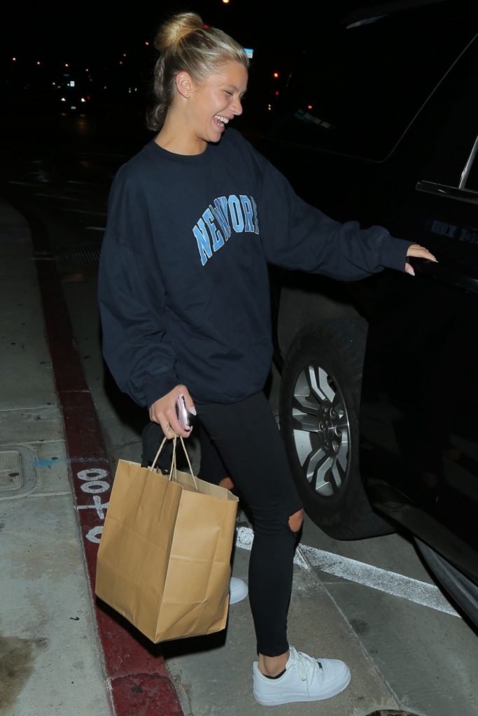 Josie Canseco in Comfy Outfit – Leaving Catch in West Hollywood 2020 (4 Photos)