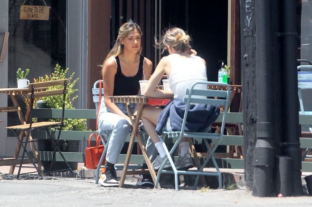 Sistine Stallone – Having Lunch in Beverly Hills 2020 (7 Photos)