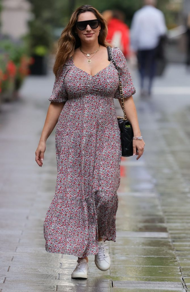 Kelly Brook – Out in London 2020